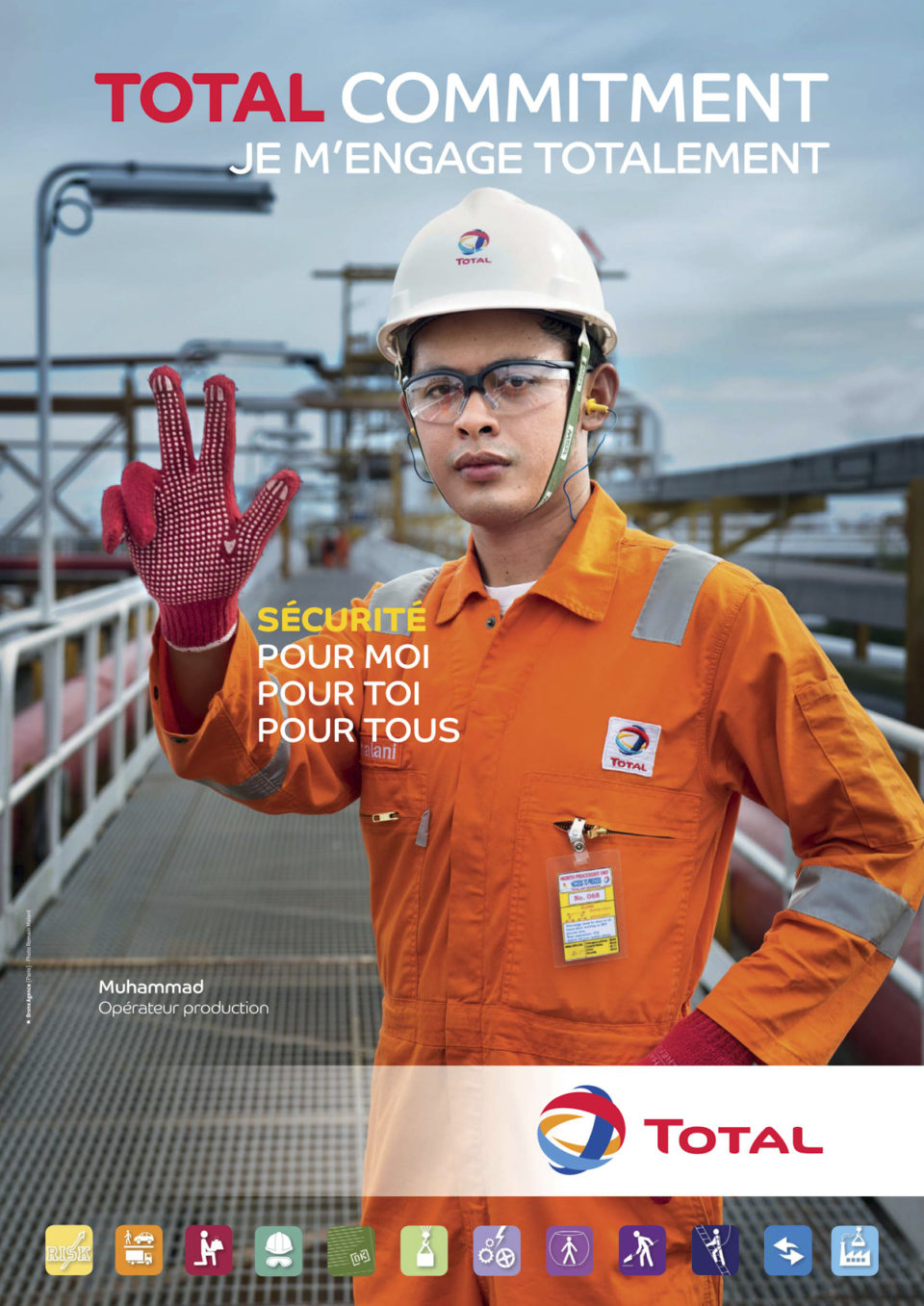 TOTAL, world day for safety campaign.