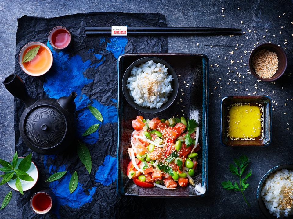 RICE TROTTERS AMBIANCE JAPON tartare de saumon BD WEB