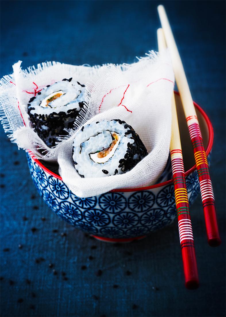 maki saumon fume kiri et aneth 41388