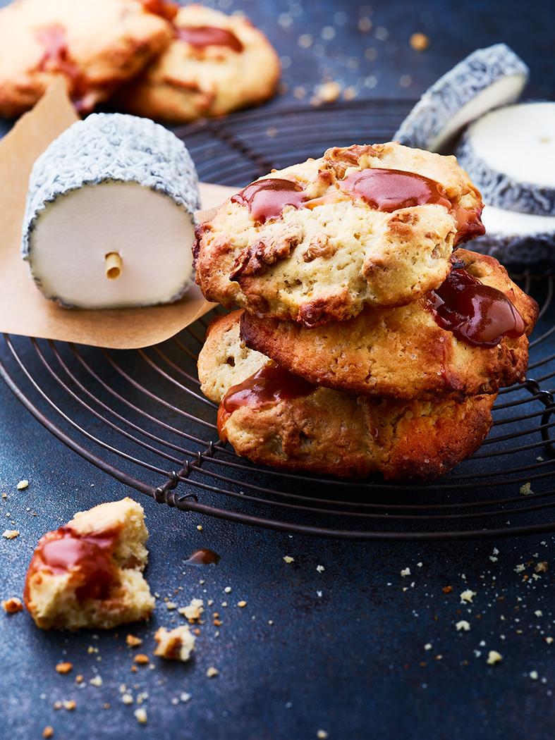 sainte-maure de touraine recette cookies au caramel BD - copie